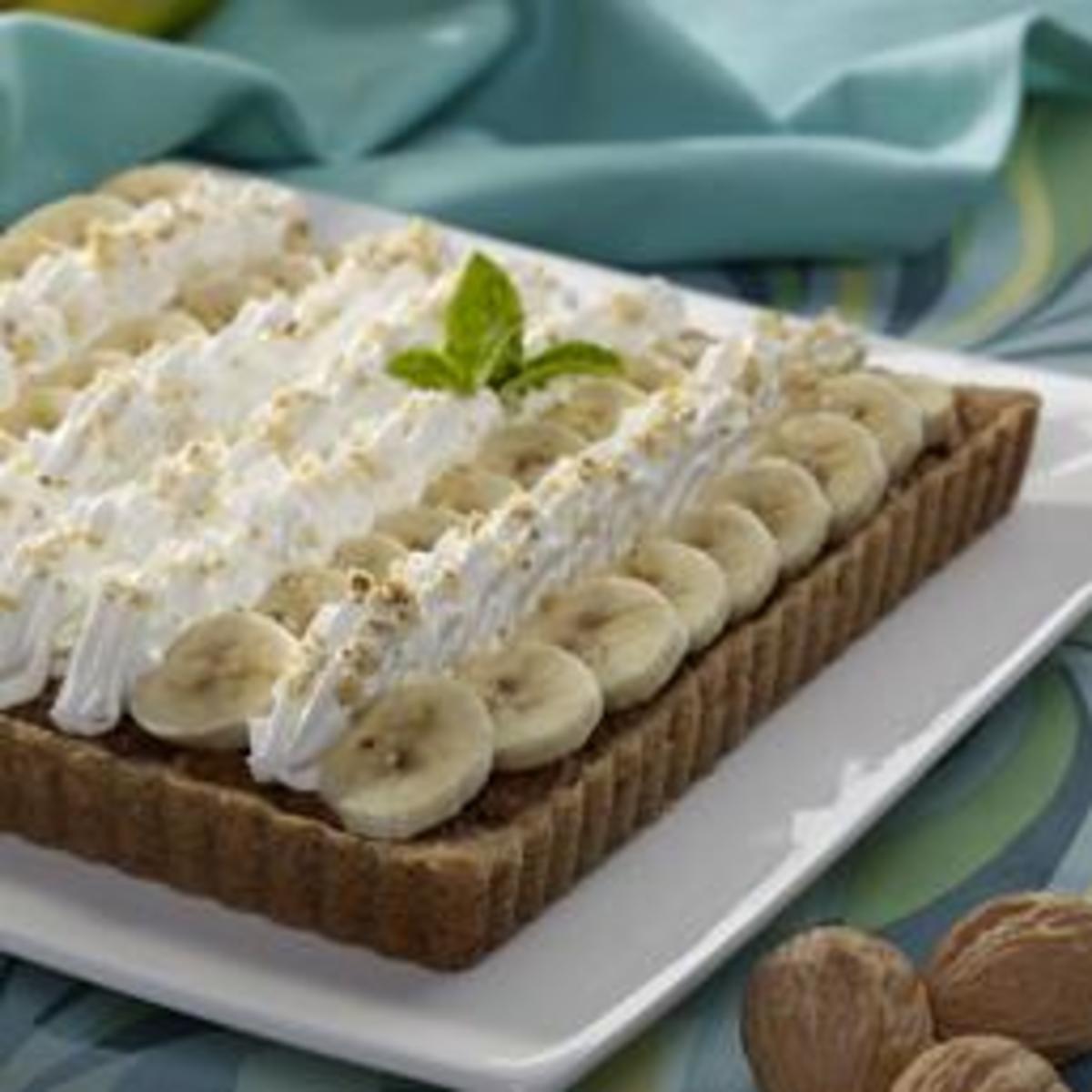 Banana Walnut Butterscotch Bars