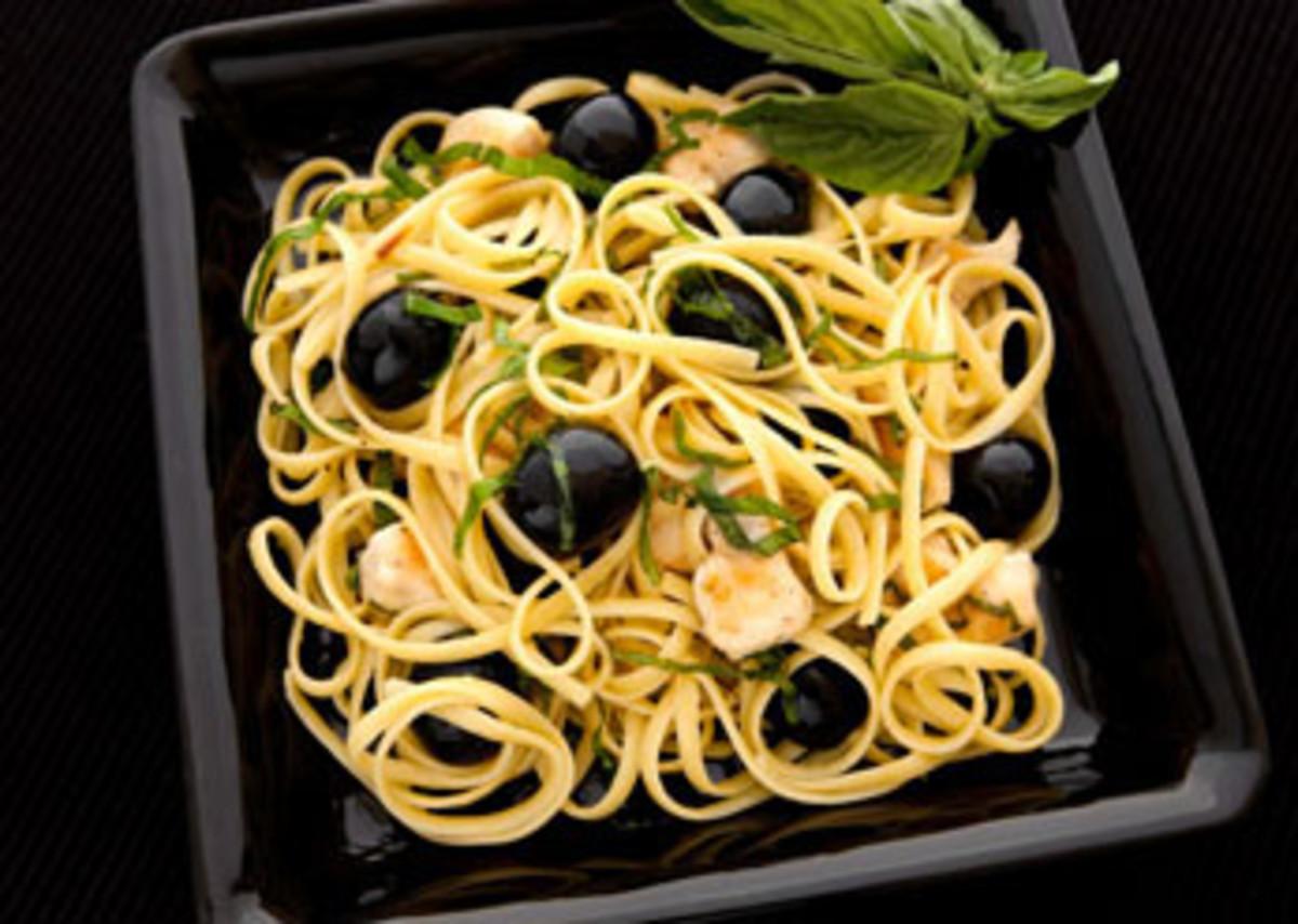Scampi Chicken Linguini