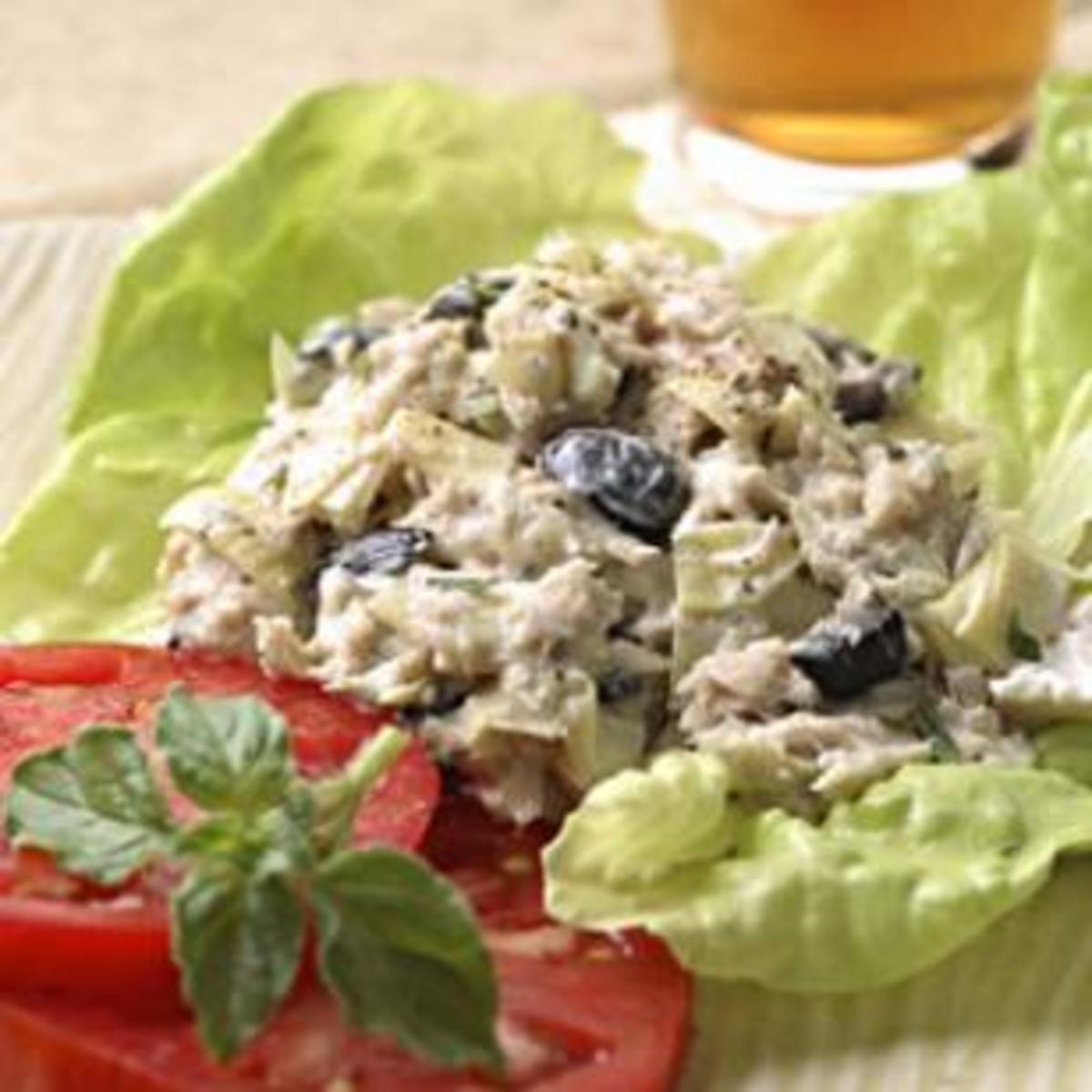 Artichoke-and-Ripe-Olive-Tuna-Salad