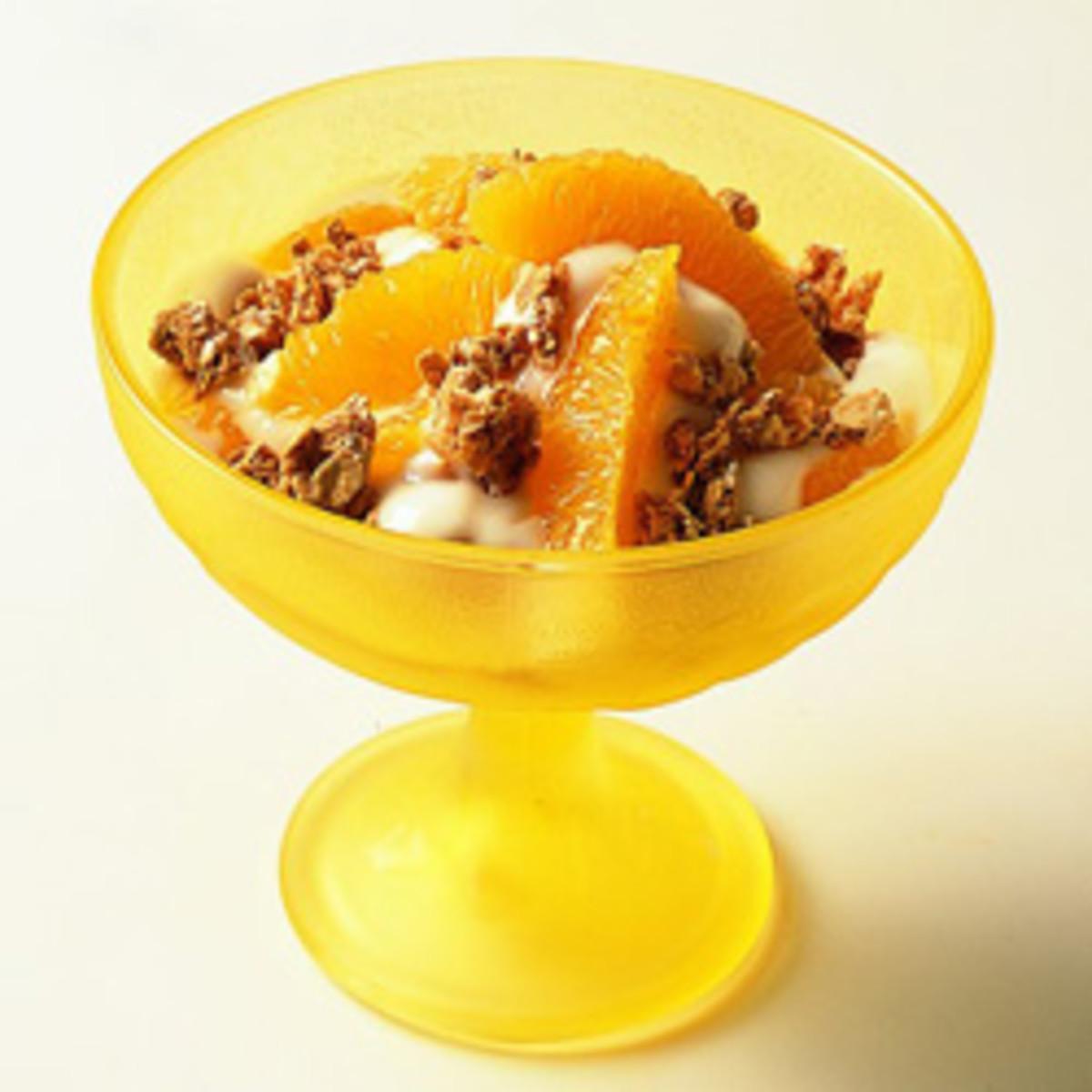 Easy Orange Parfaits