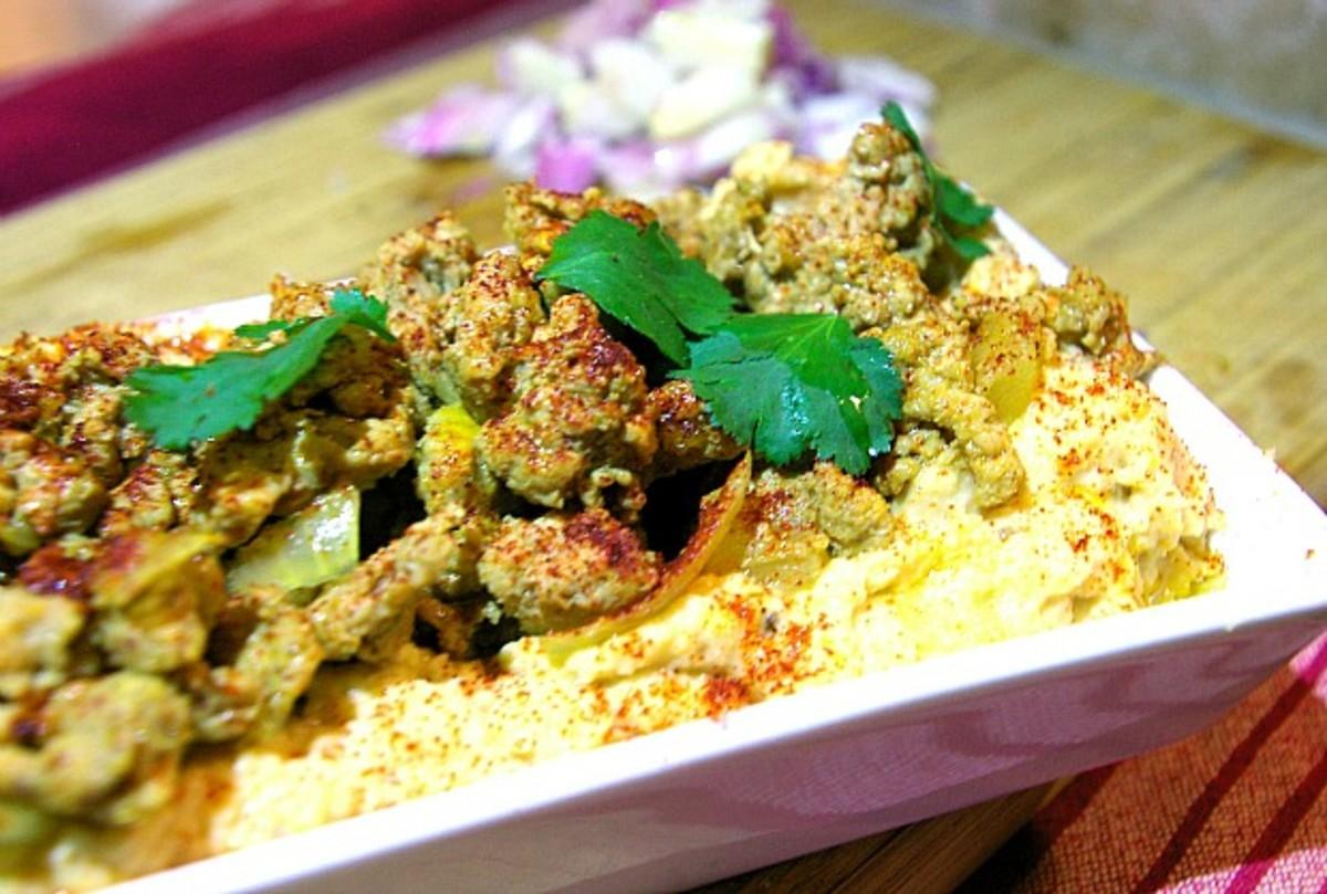 chicken hummus main
