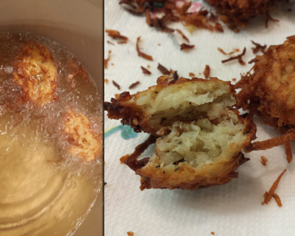 Week 7 Parsnip and potato latkes 2