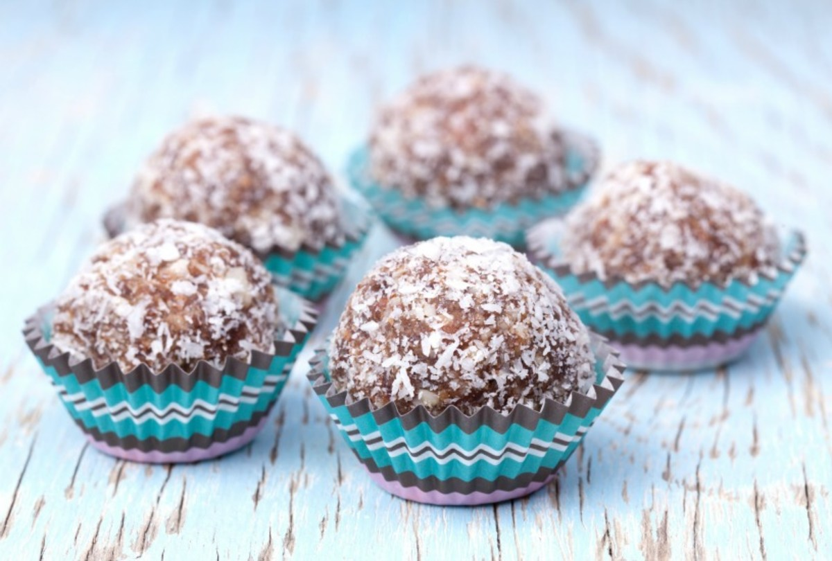 Almond-Walnut Truffles