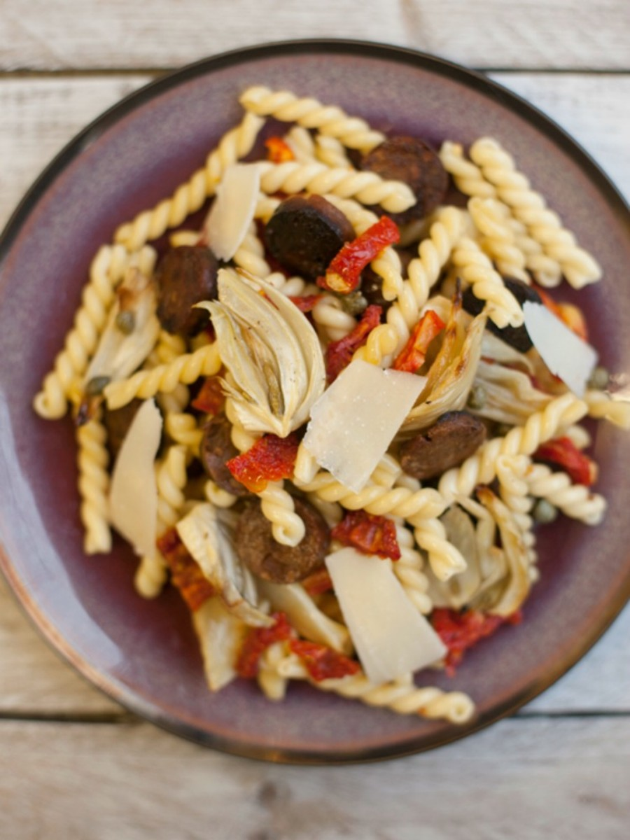 Pasta with Roasted Fennel and Sausage