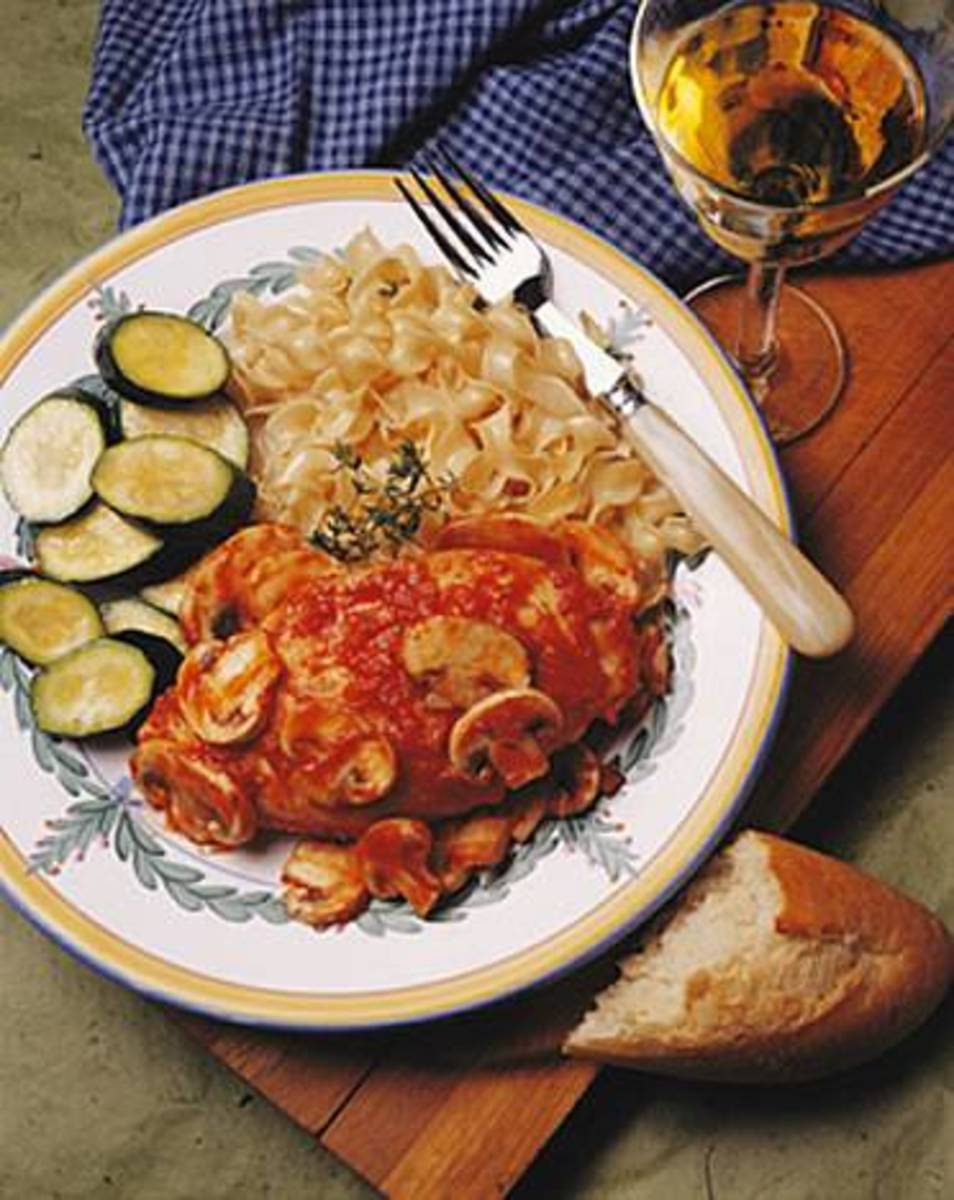 Chicken Cacciatore with Mushrooms