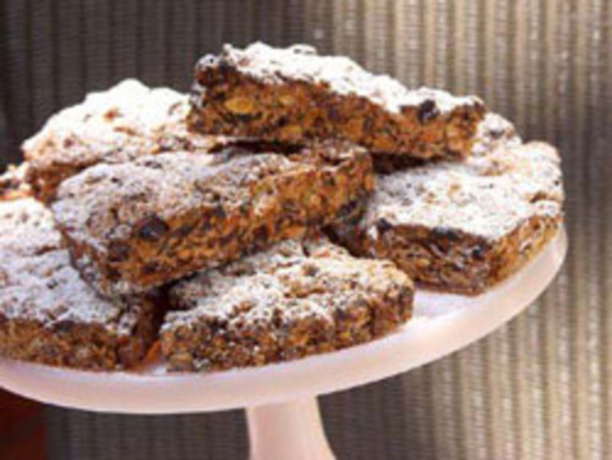 Dried Fruit and Nut Scones