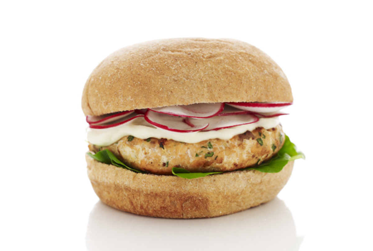 Fresh Salmon Burger
