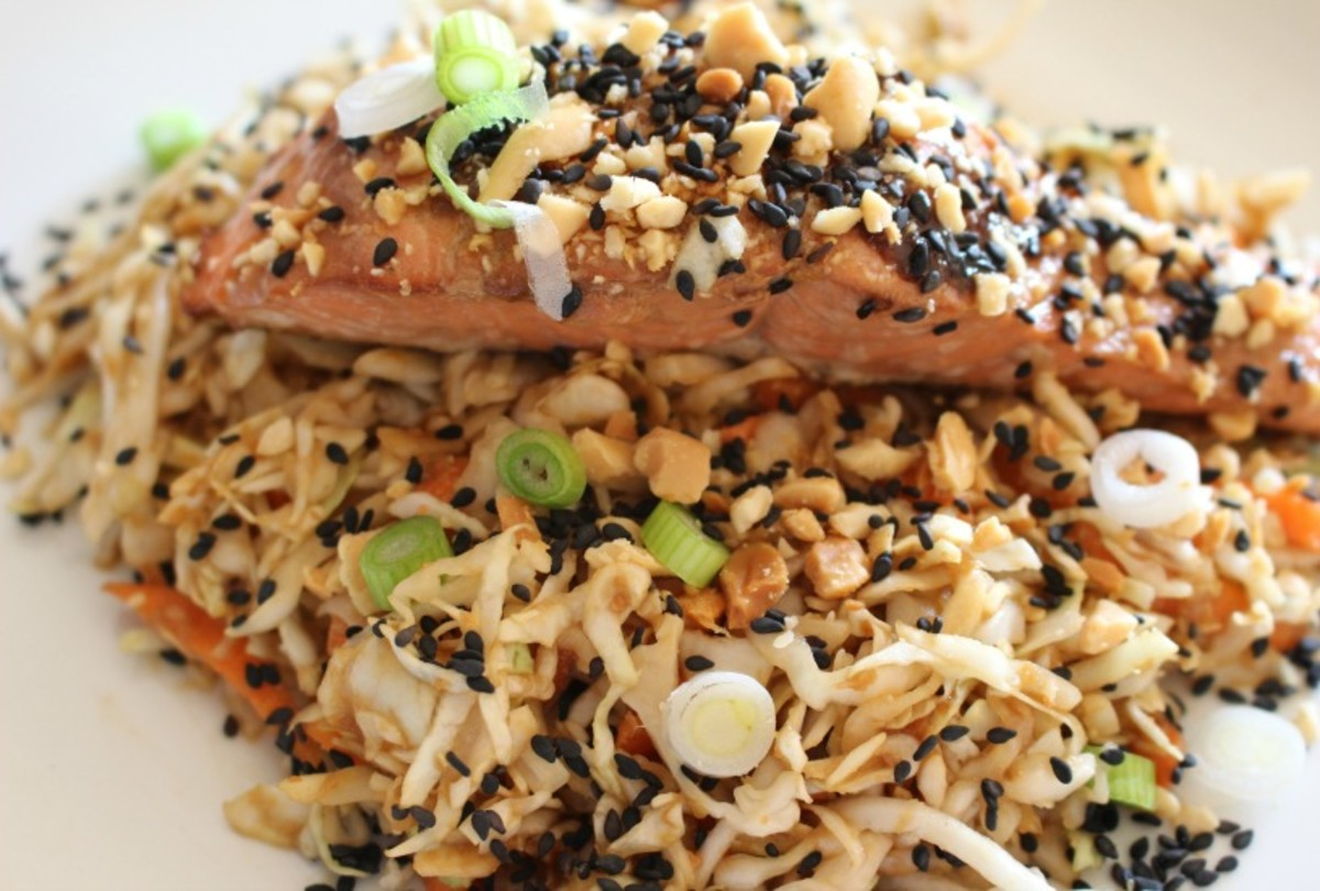 Sesame Soy Salmon