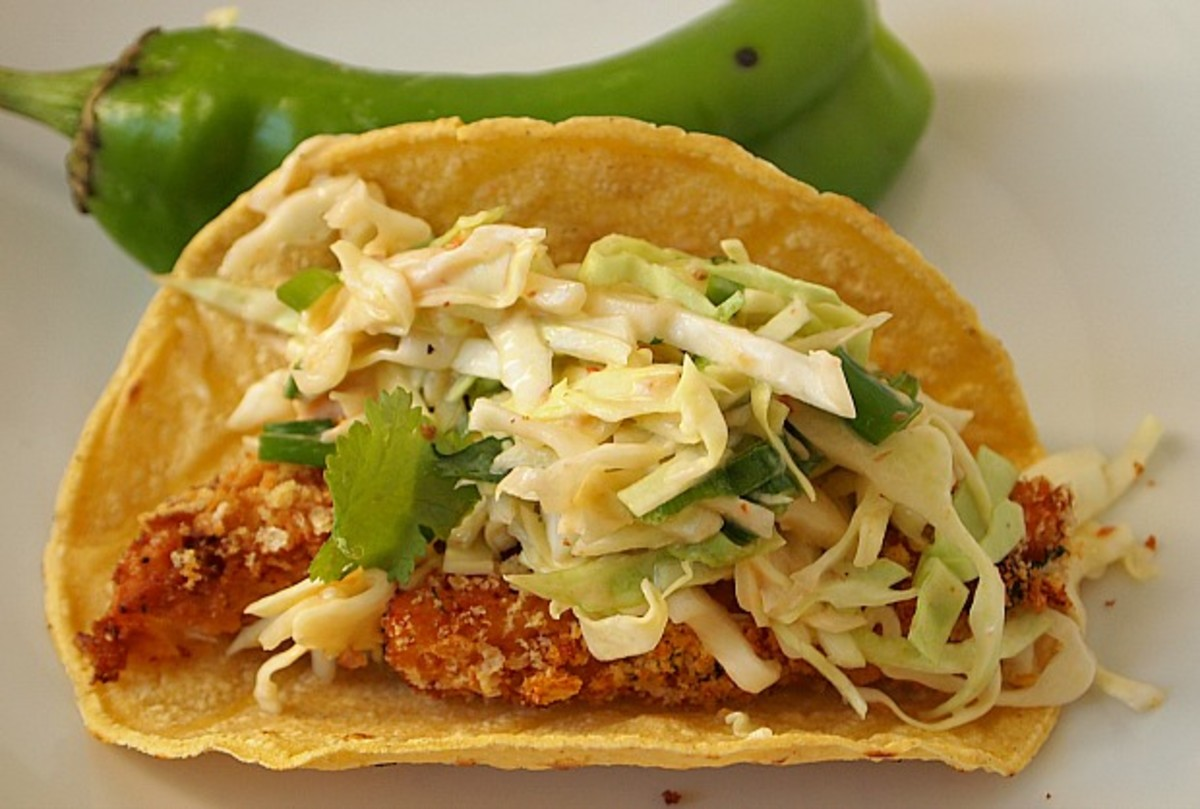 Breaded and baked fish tacos joy of kosher for How to cook fish tacos