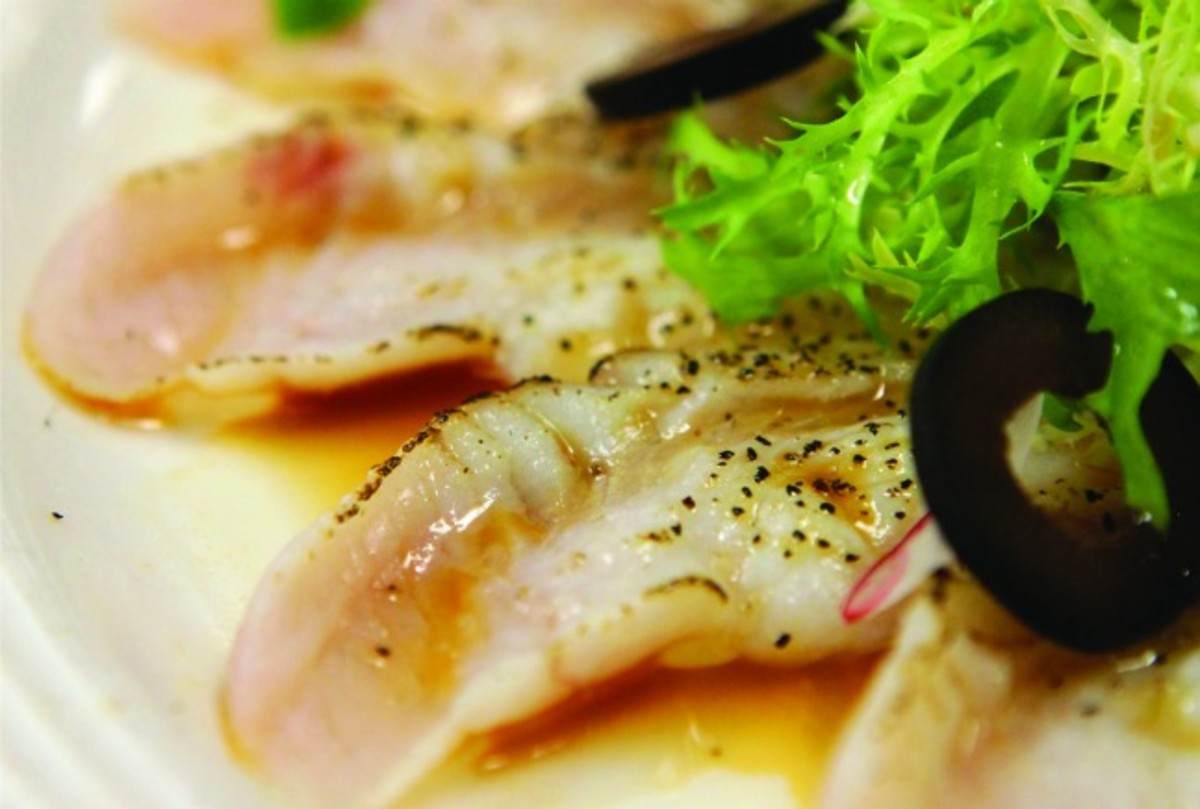 Seared Summer Flounder