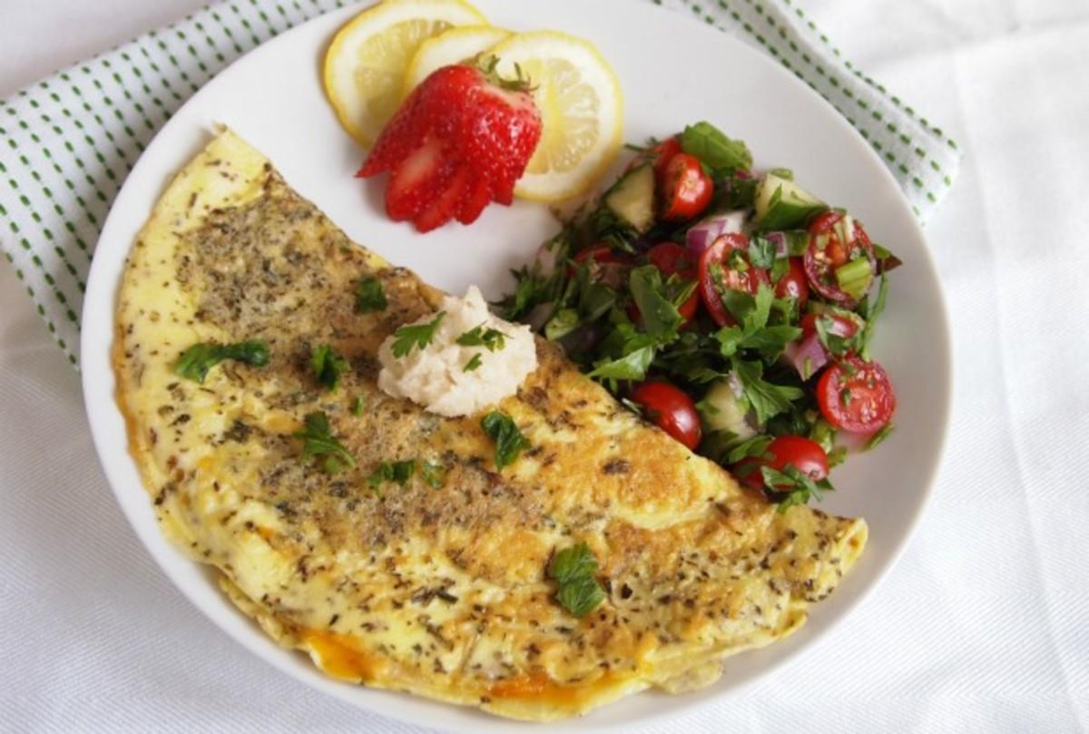 horseradish omelet
