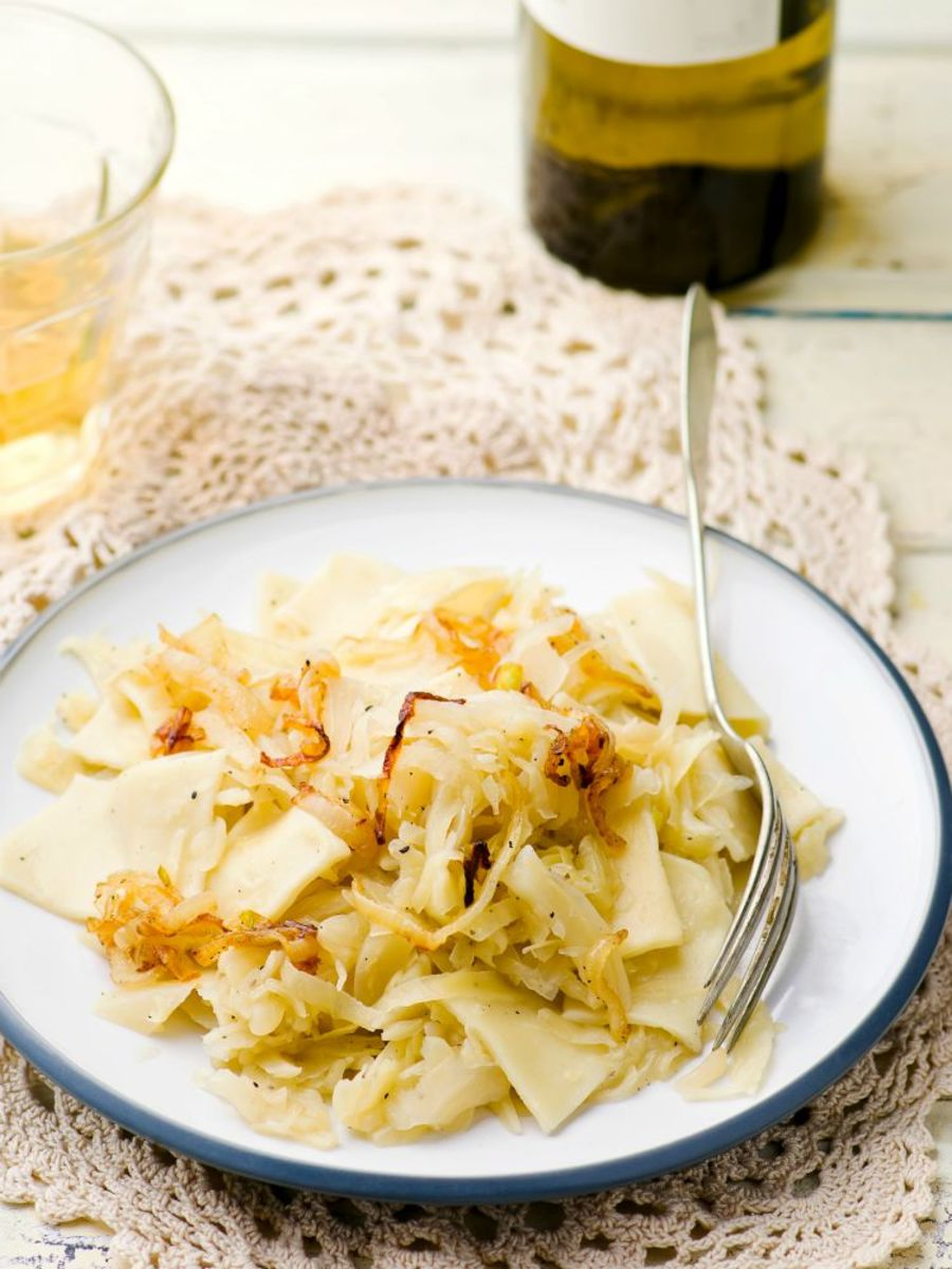 cabbage noodles