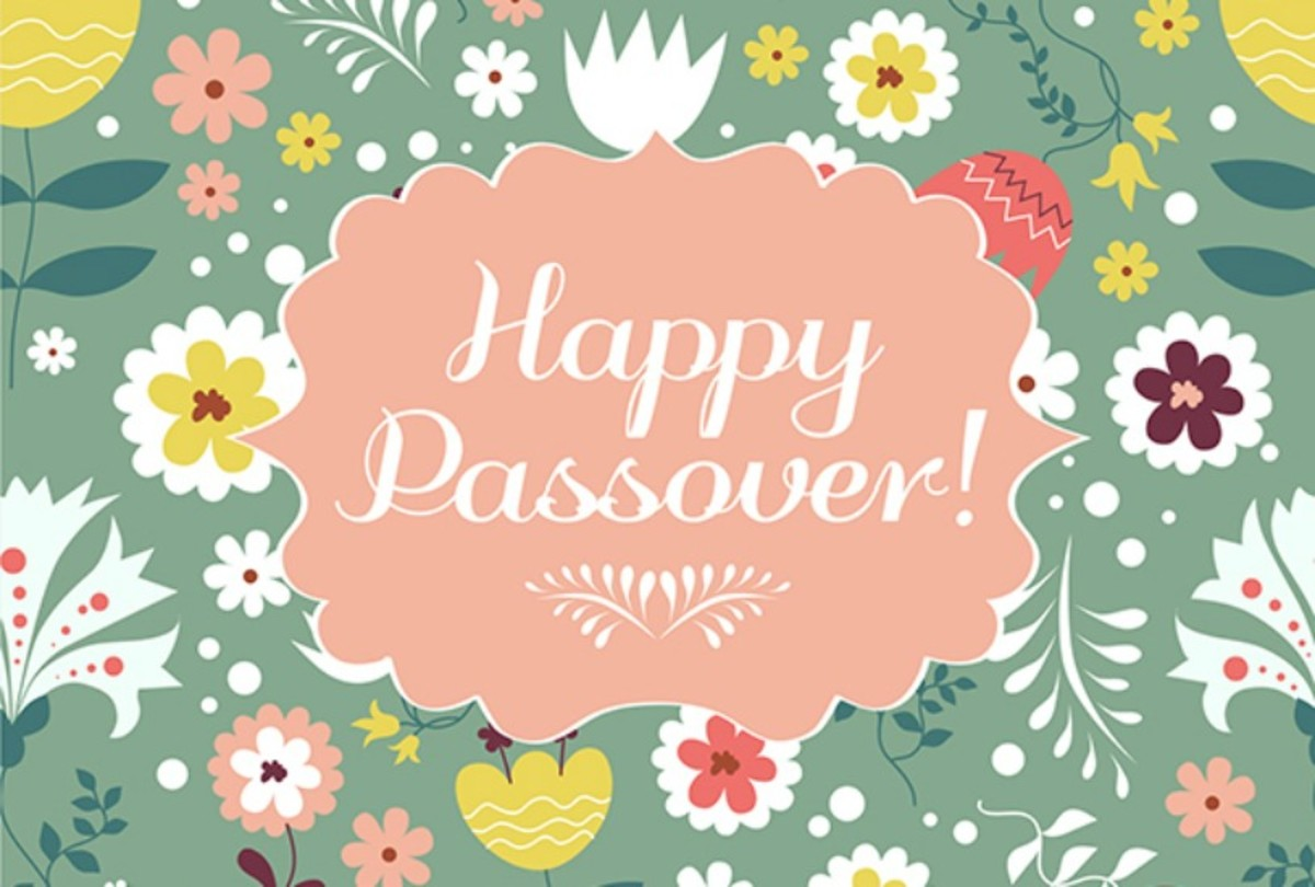 happy passover - joy of kosher