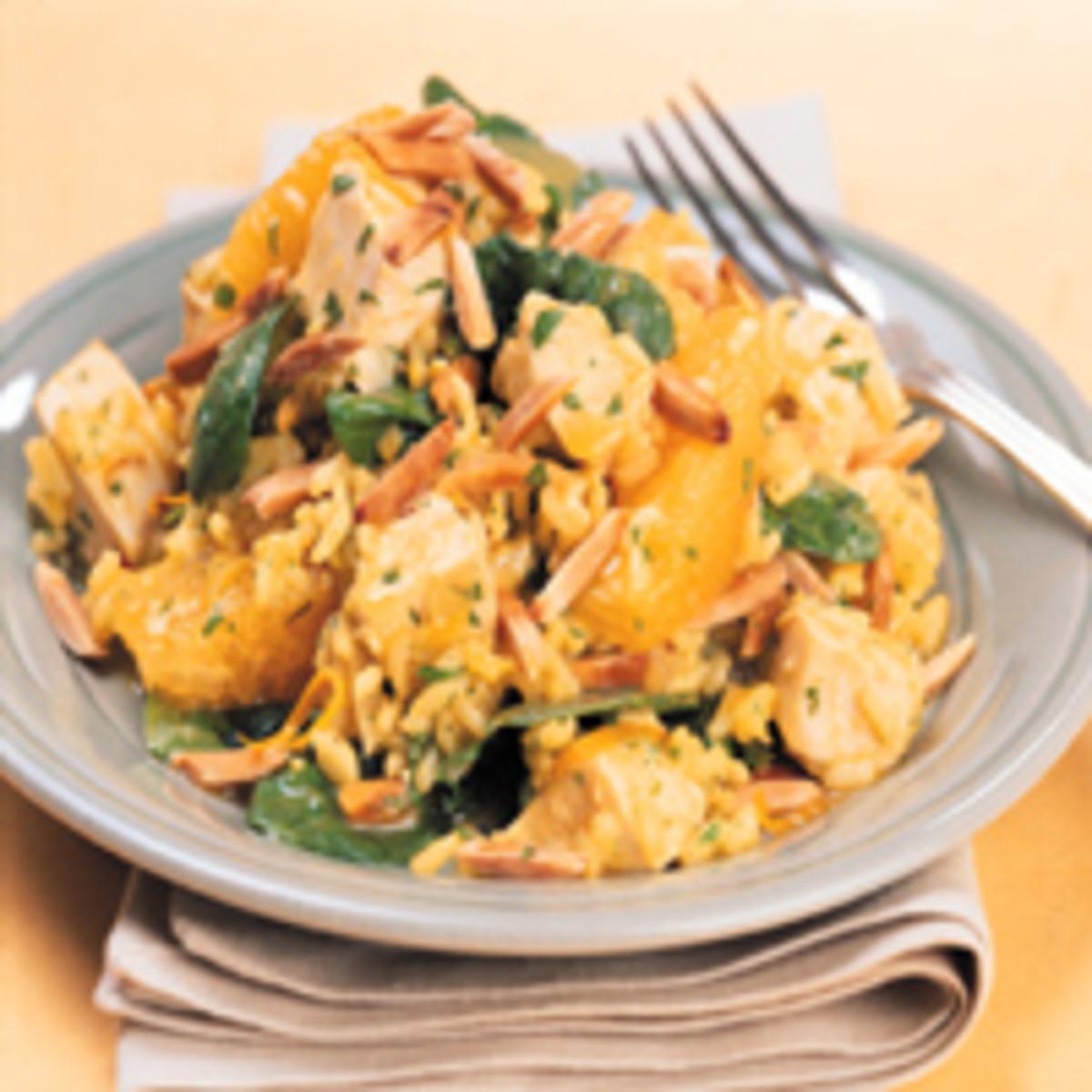 Warm Caribbean Rice Salad