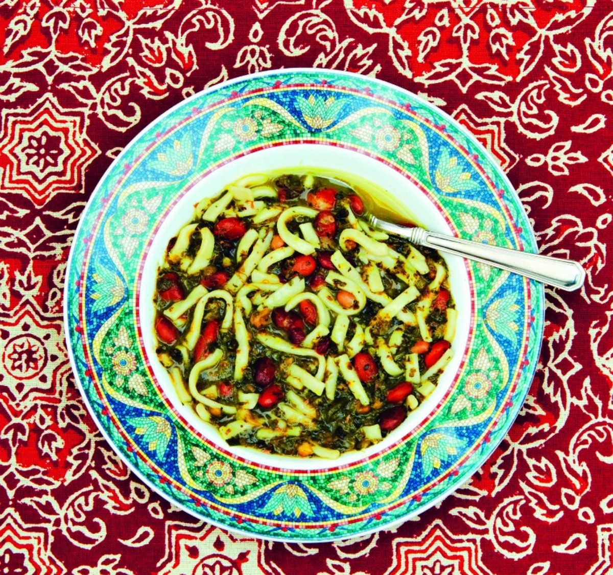 Persian Bean & Noodle Soup