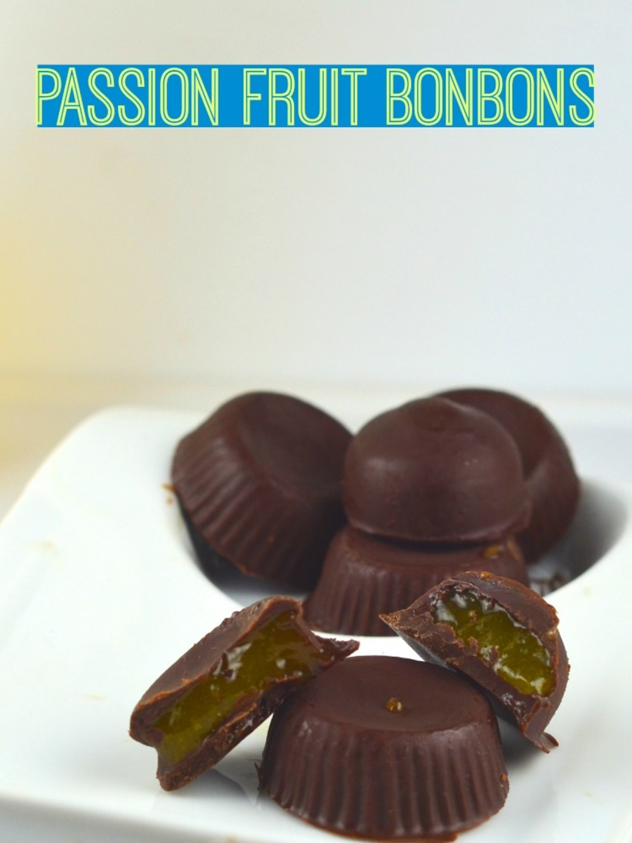passion fruit bonbons