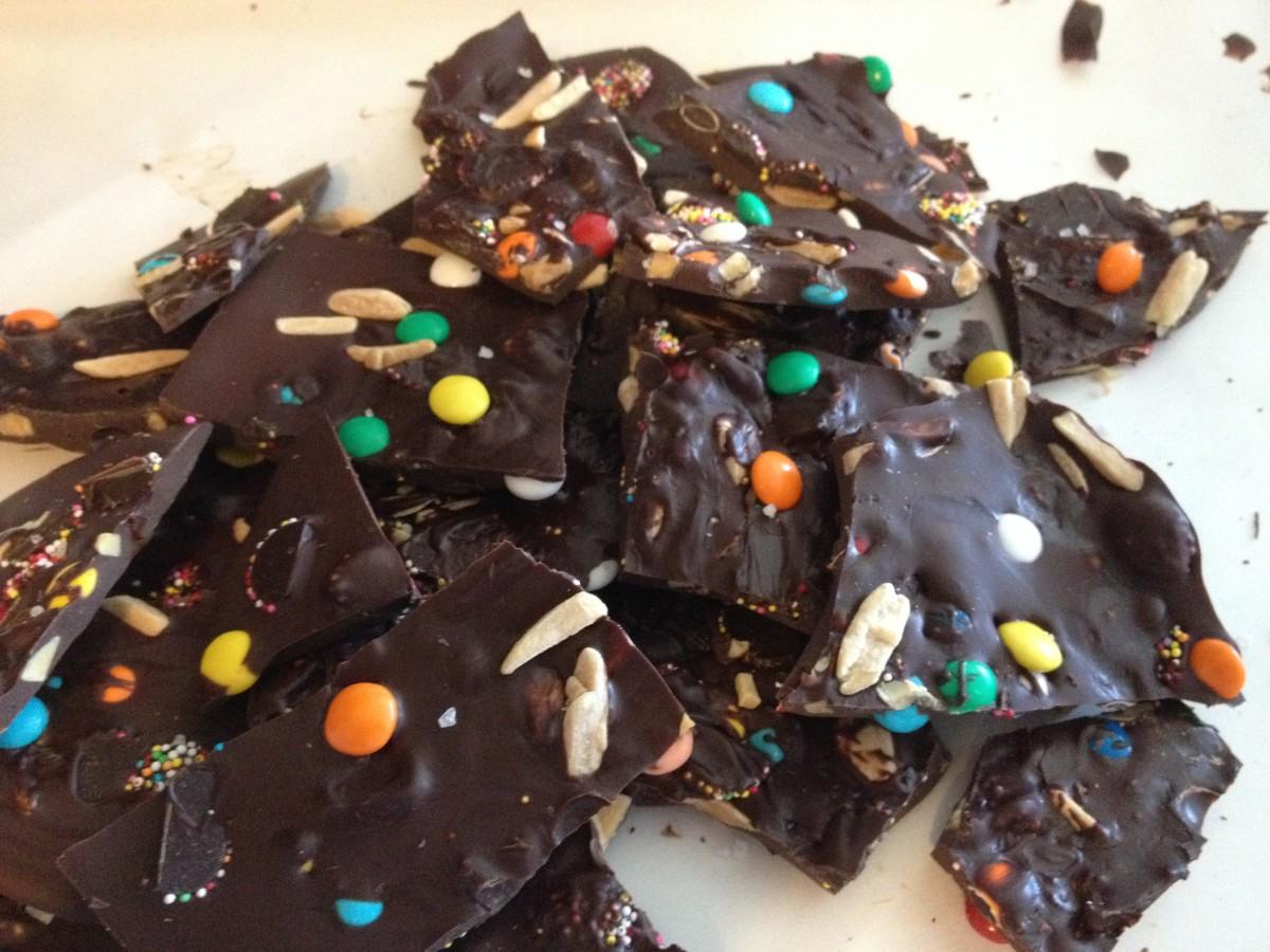 KIddie Candy Bark