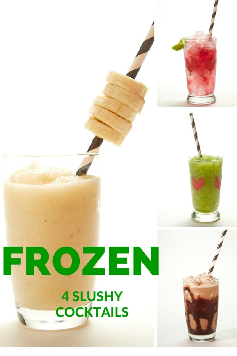 4 Slushy Frozen Cocktail Drinks