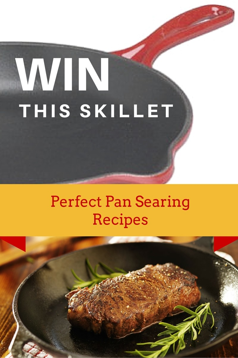 WIN a Cast Iron Skillet plus get Perfect Pan Searing Recipes