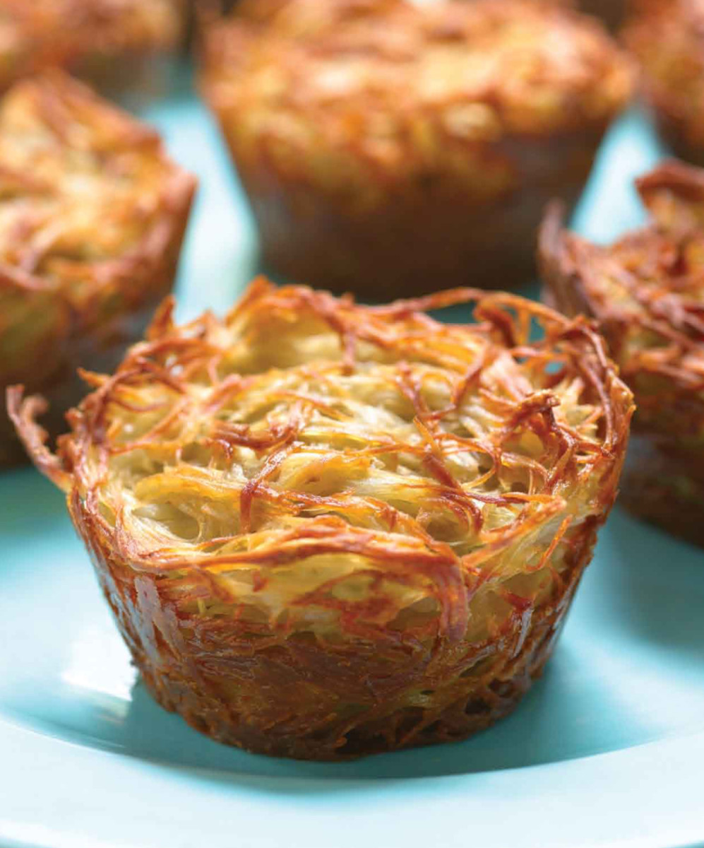 Potato Kugel Cups Long
