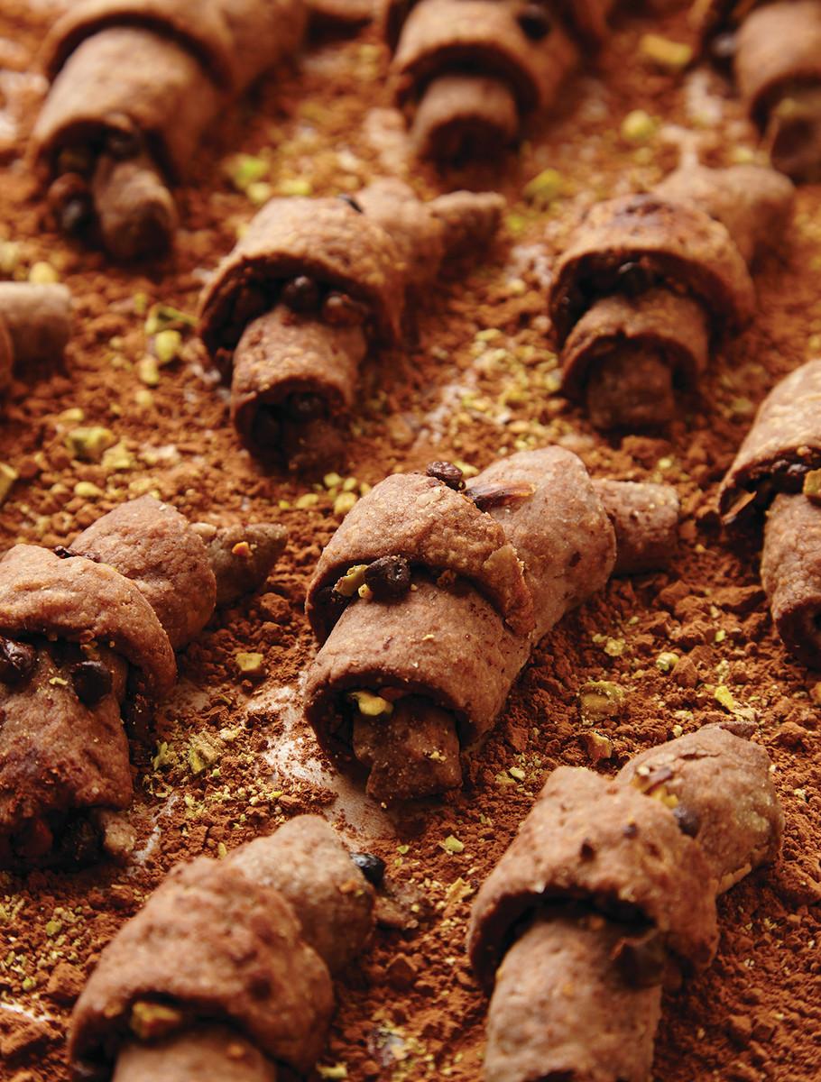 Chocolate Pistachio Rugelach 83