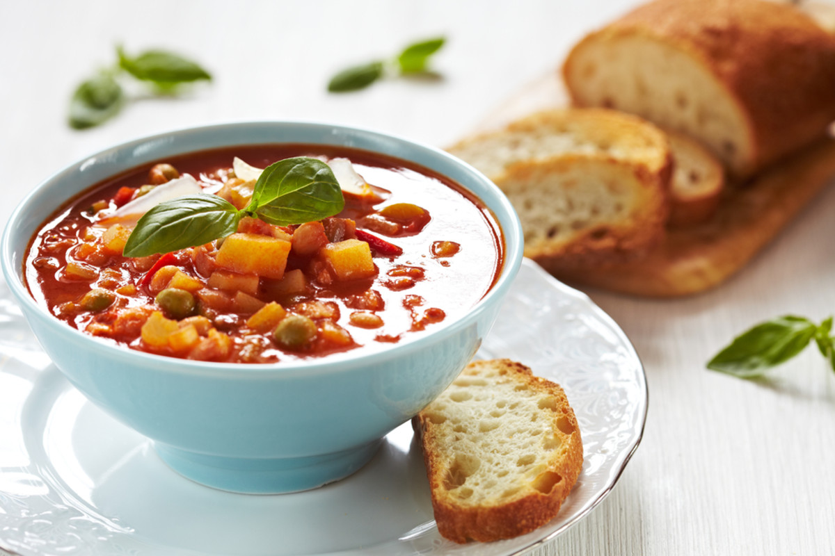 20 minute minestrone soup