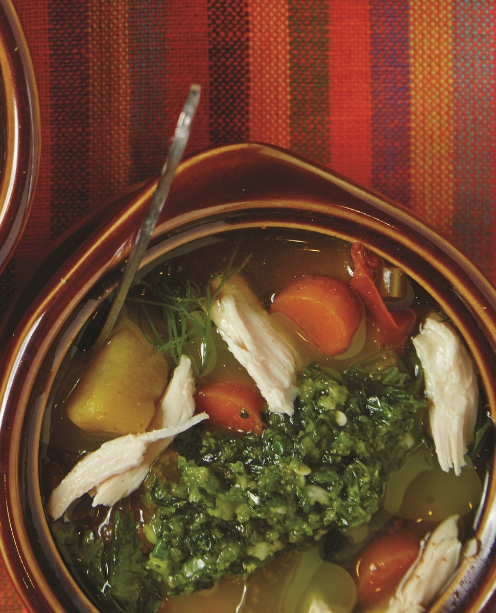 Yemenite Chicken Soup Jamie Geller