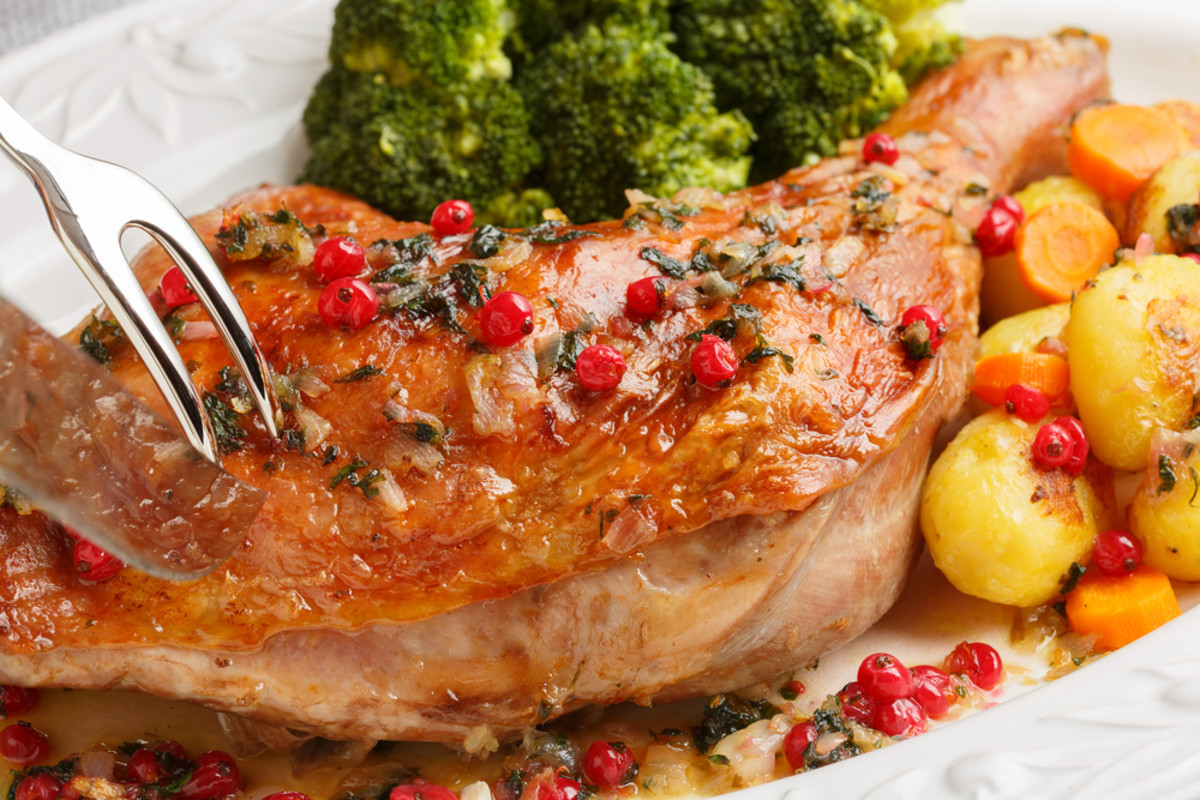 cranberry and tequila turkey leg