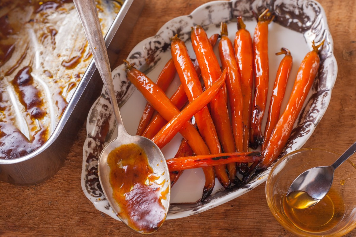 Maple Ginger Carrots