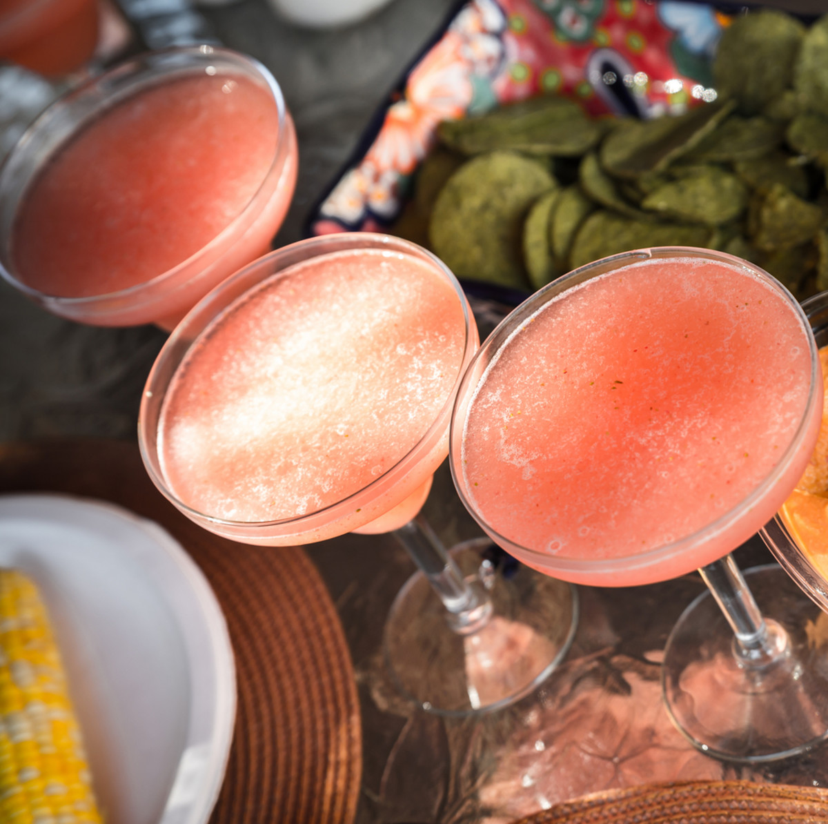 virgin strawberry margarita