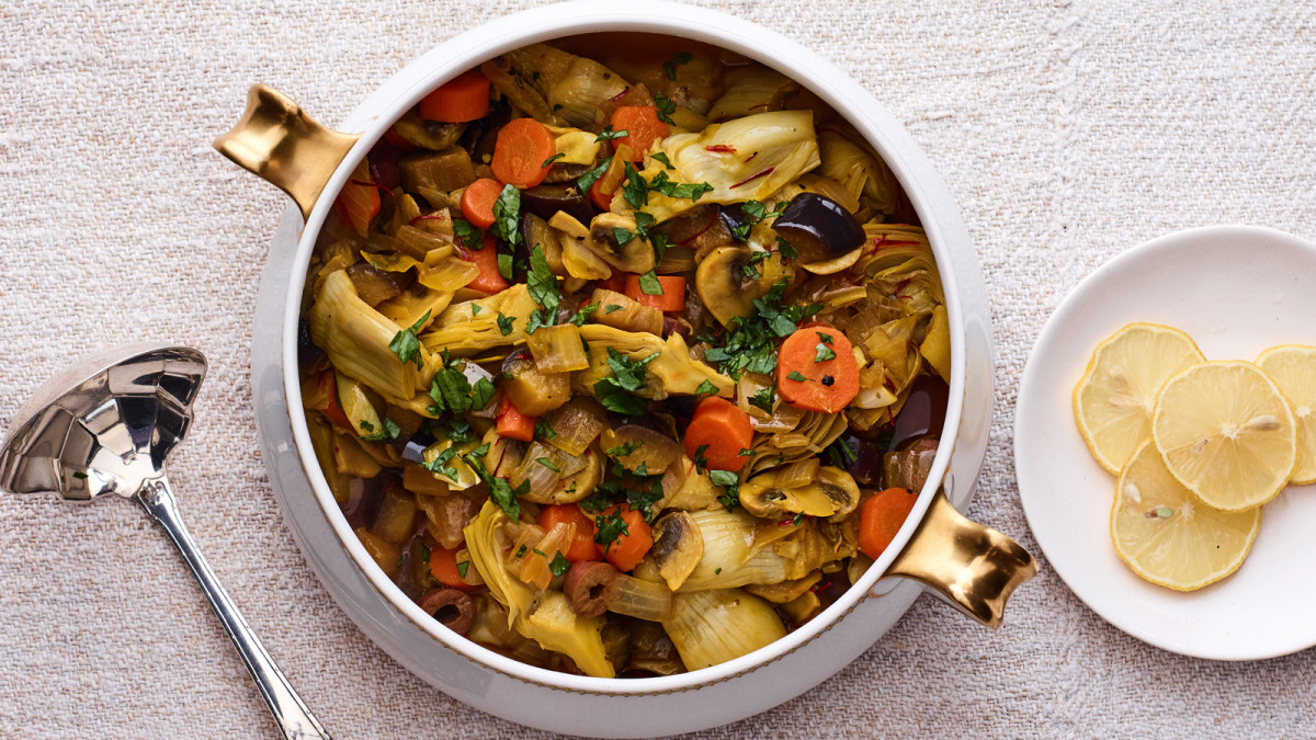 Vegetable Barigoule