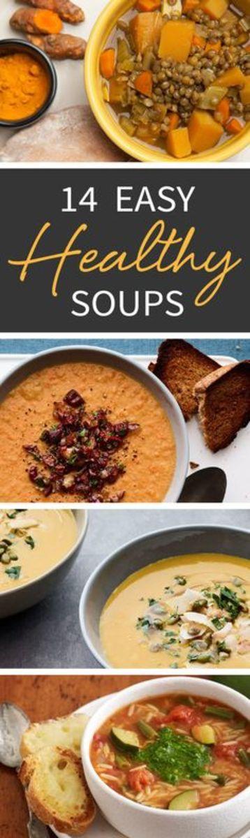 14 healthy easy soups