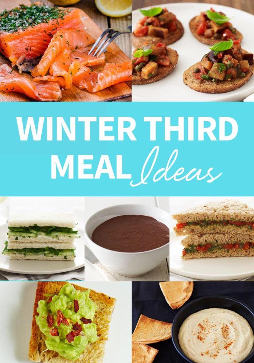 Winter third meal ideas
