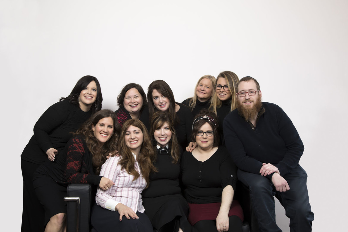JOY of KOSHER with Jamie Geller Team Shot