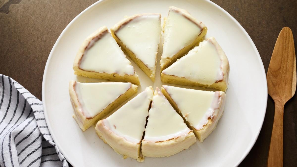 Japanese Rose Water Cheesecake