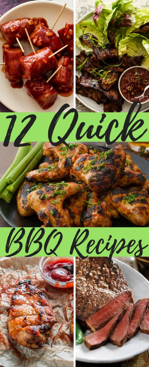12 quick bbq recipes