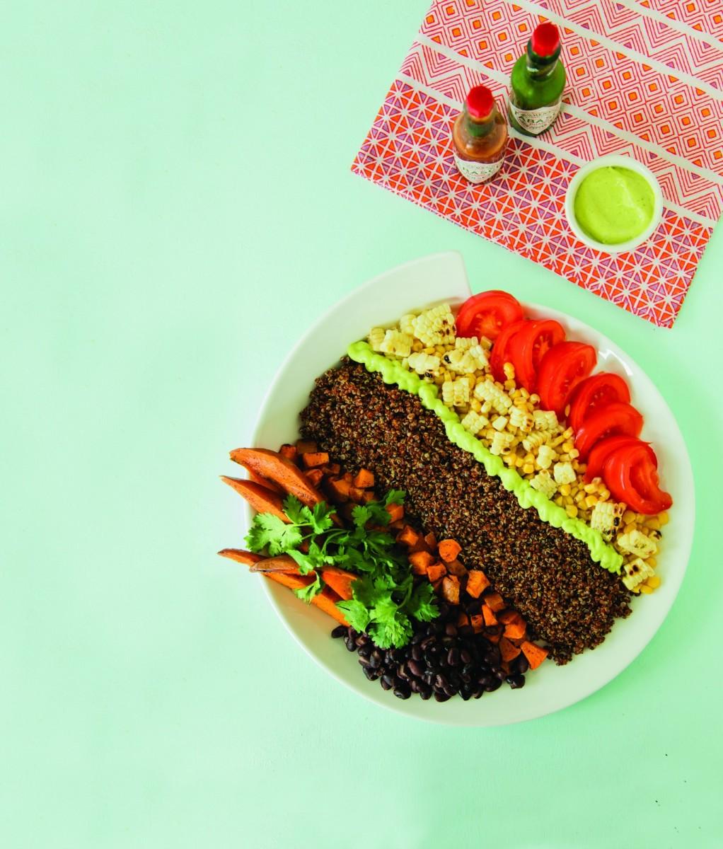 Southwest Salad vertical