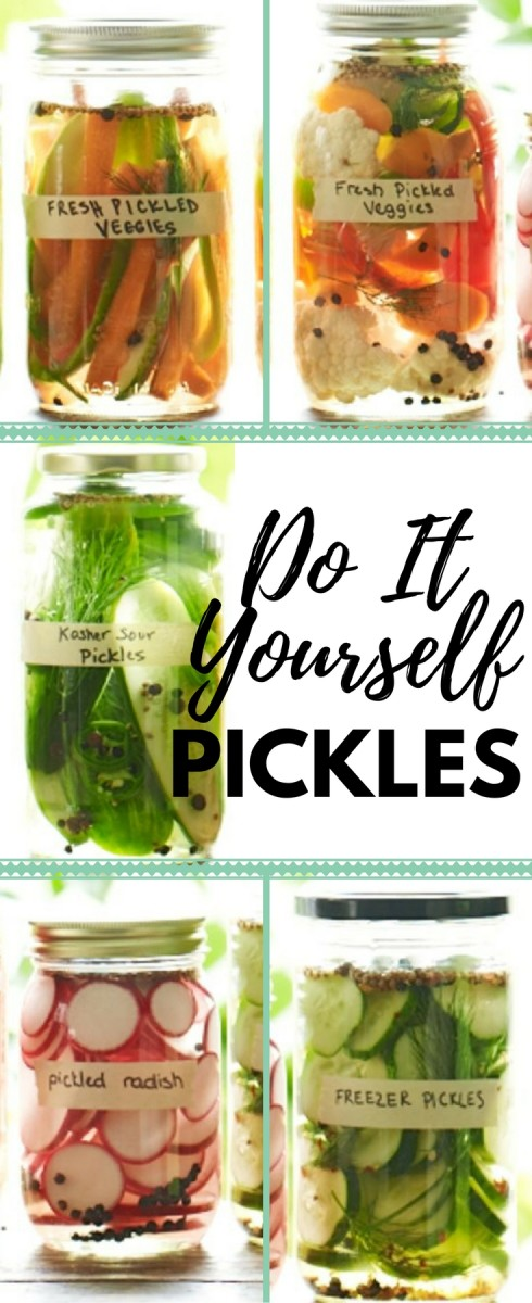 DIY pickles