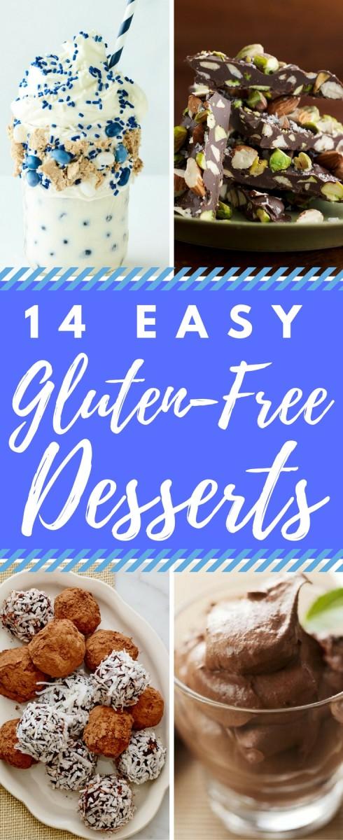 14 easy gluten free desserts