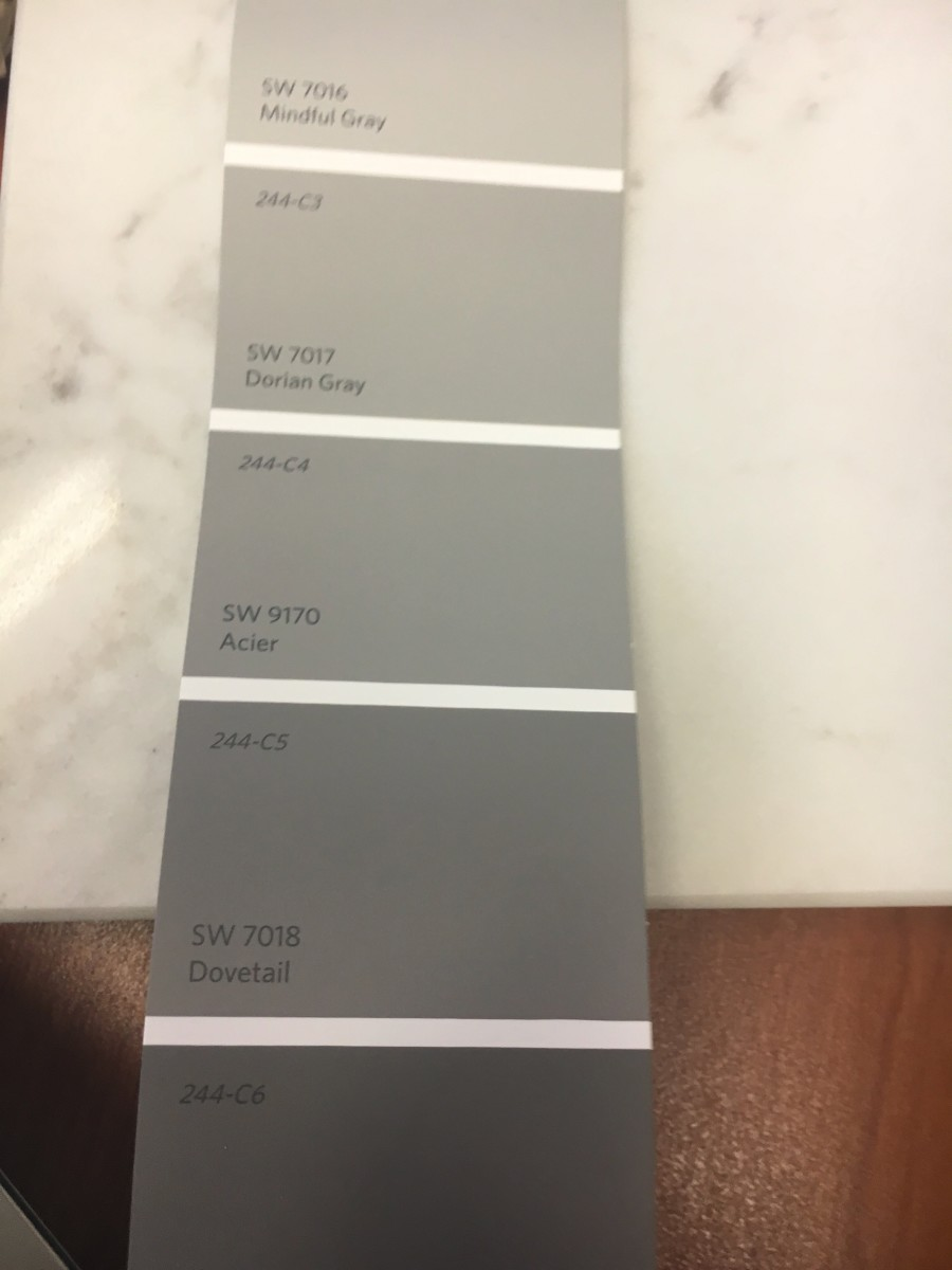 The perfect soft shade of gray