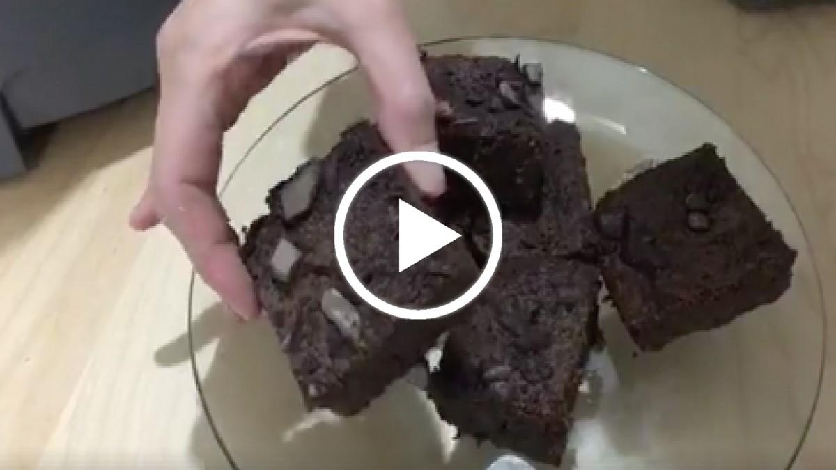 gluten free black bean brownies