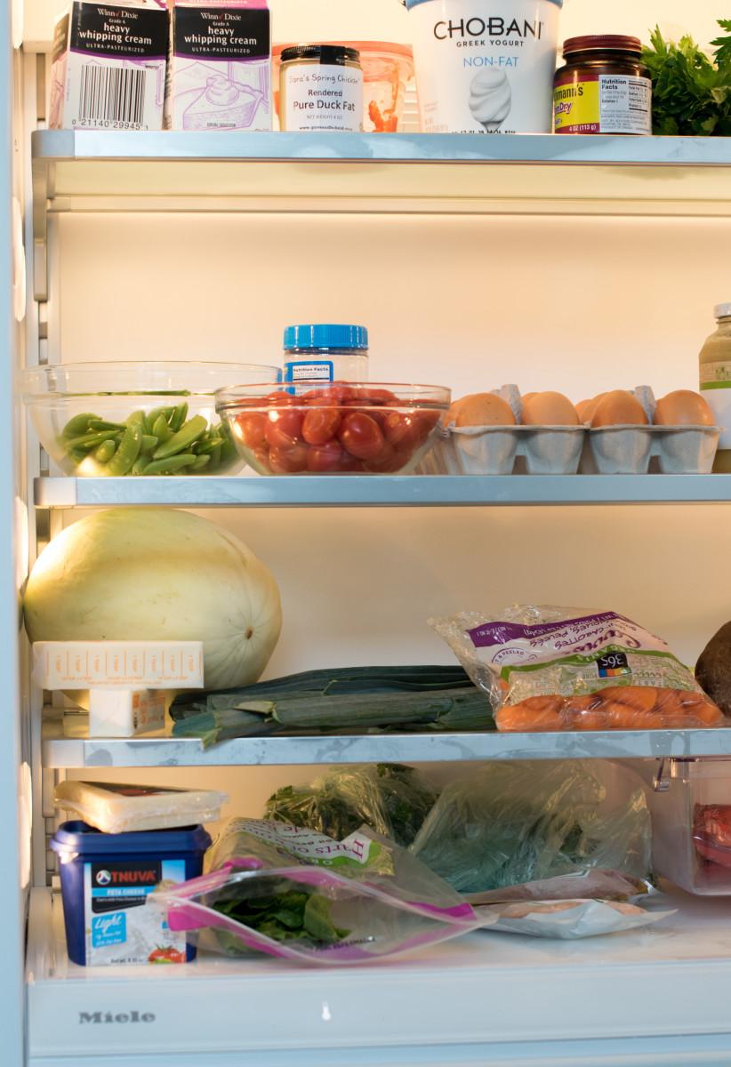Miele Fridge in Jamie Geller's Test Kitchen