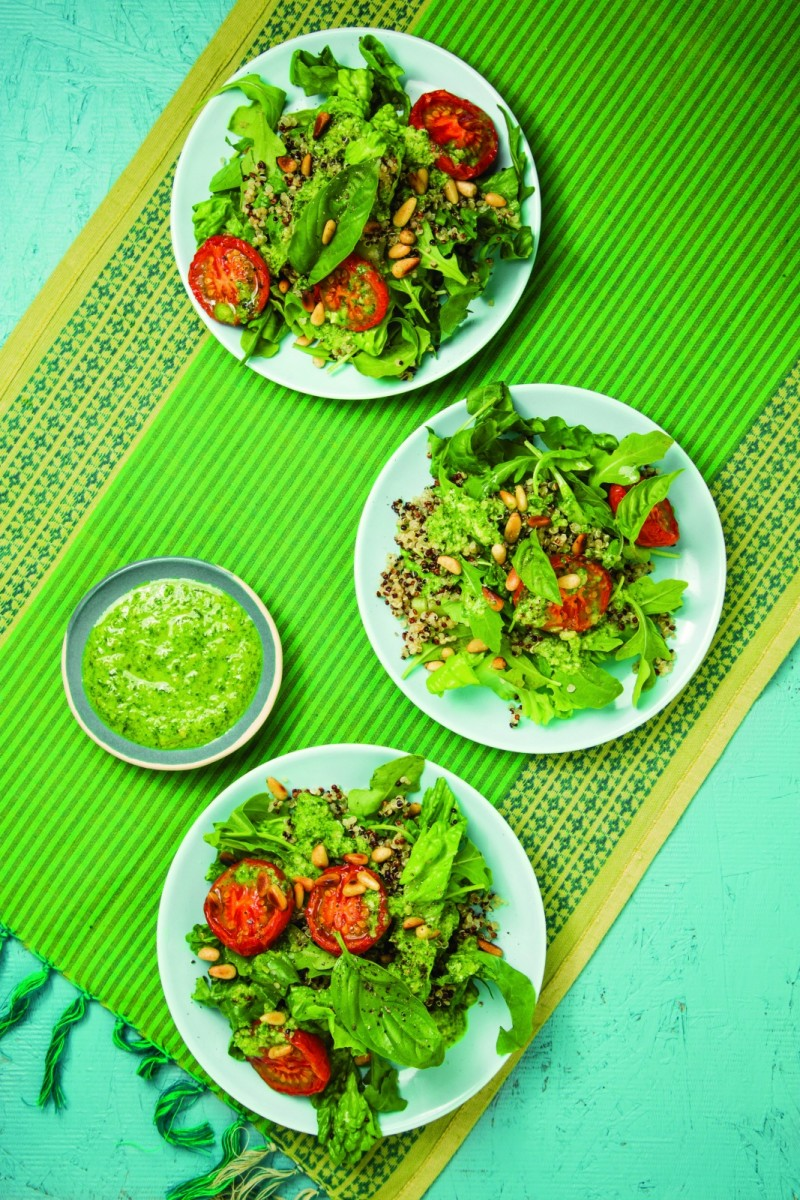 Slow-Roasted Tomato Salad vertical