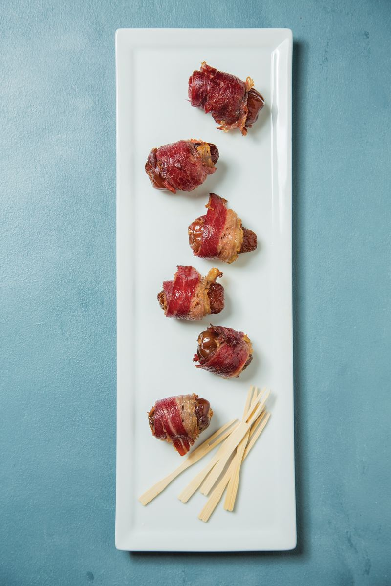 Pastrami Wrapped Dates