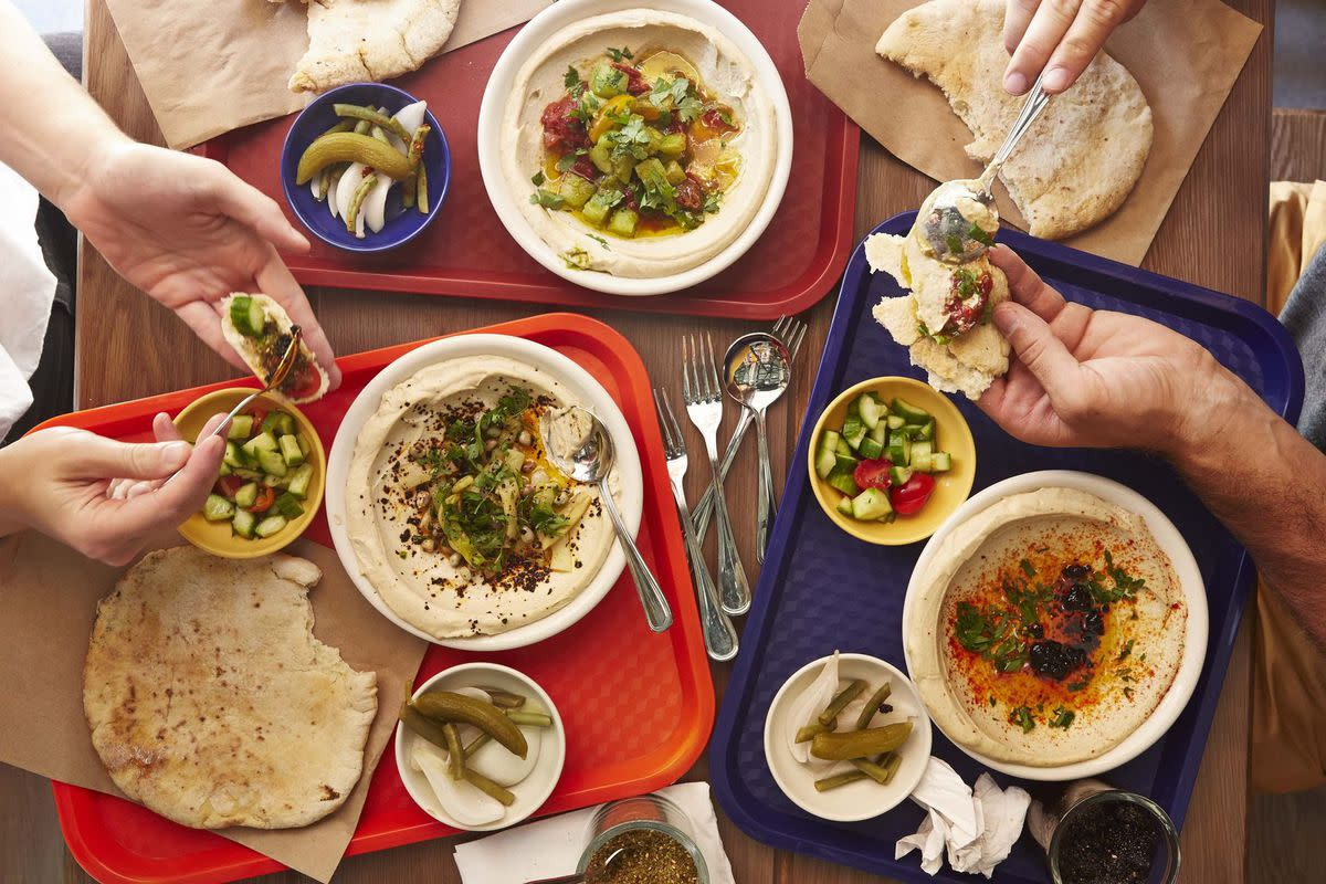 Hummus at Dizengoff