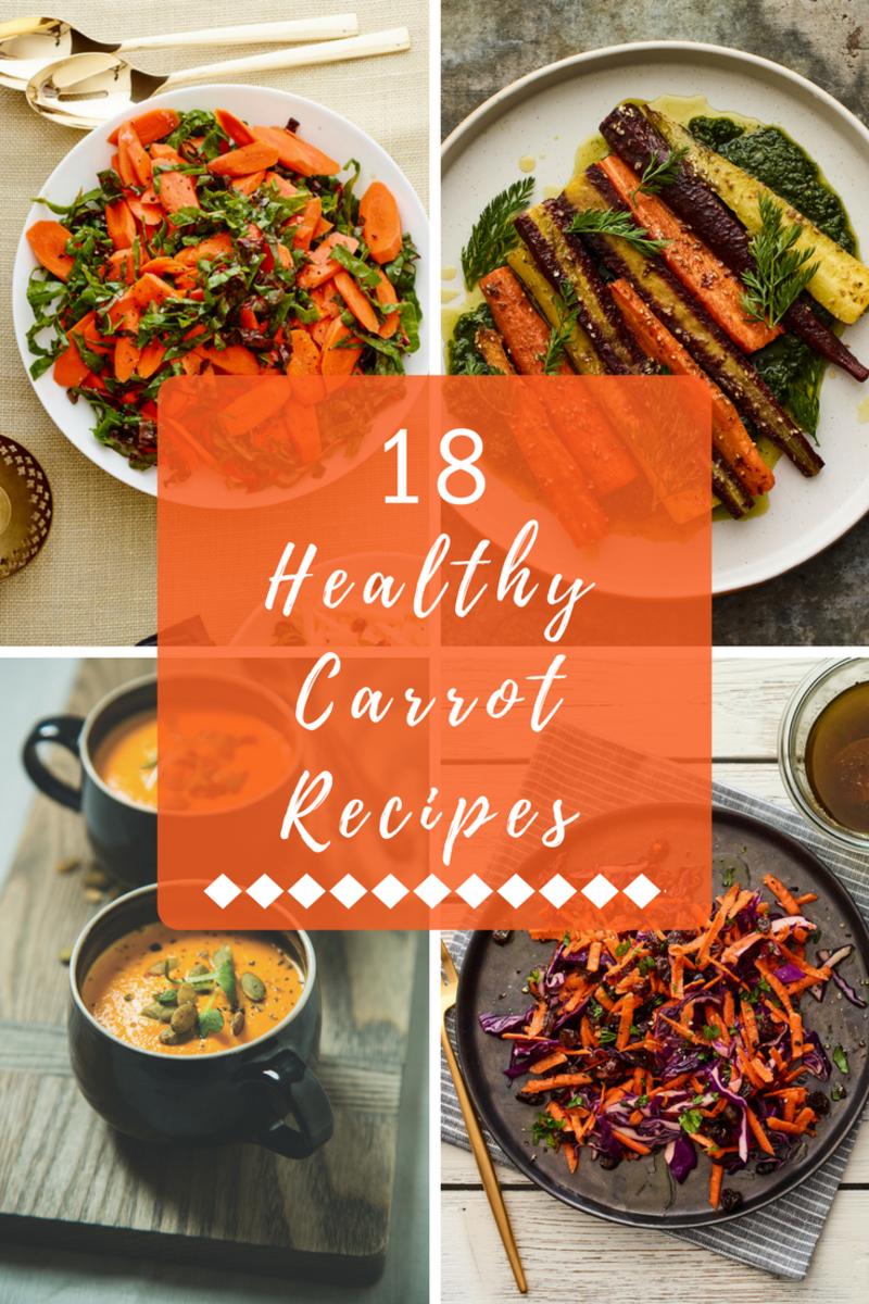 18 healthy carrot recipes pin