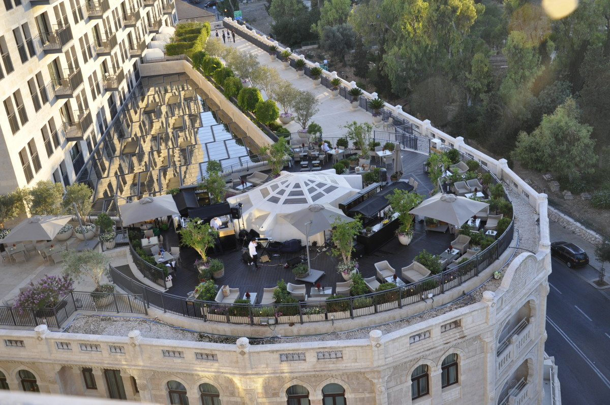 The Waldorf Astoria Jerusalem Garden Terrace