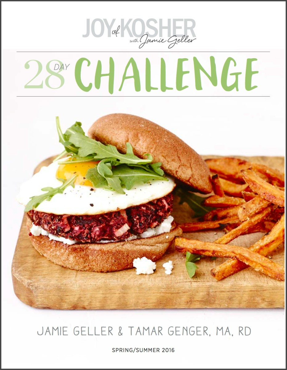 28 Day JOY of KOSHER Challenge