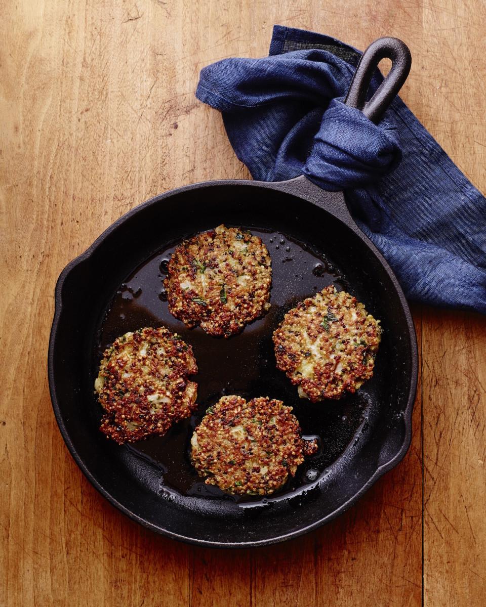Fennel Quinoa Patties for Breakfast, Lunch Dinner or Snack