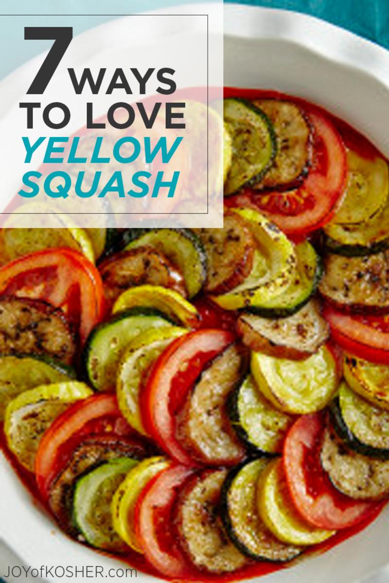 7 ways to love yellow squash